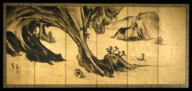 Landscapes with the Chinese Literati Su Shi and Tao Qian
