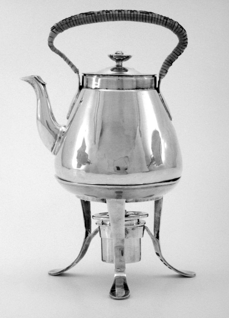 Miniature kettle with stand