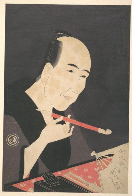 The Writer Santō Kyōden (a.k.a. Kitao Masanobu)
