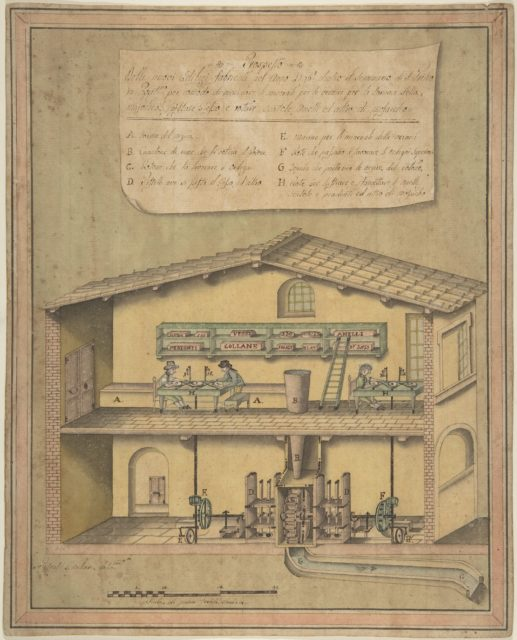 Project for the New Buildings Erected in the Year 1796 behind the Cemetries of St. Peter