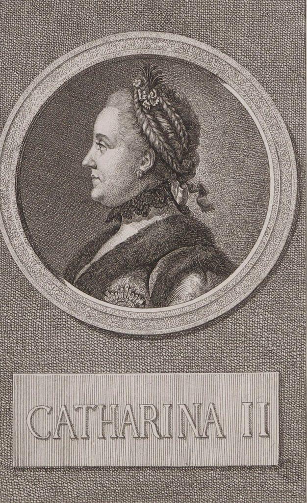 Catherine II, born Princess Sophie of Anhalt-Zerbst