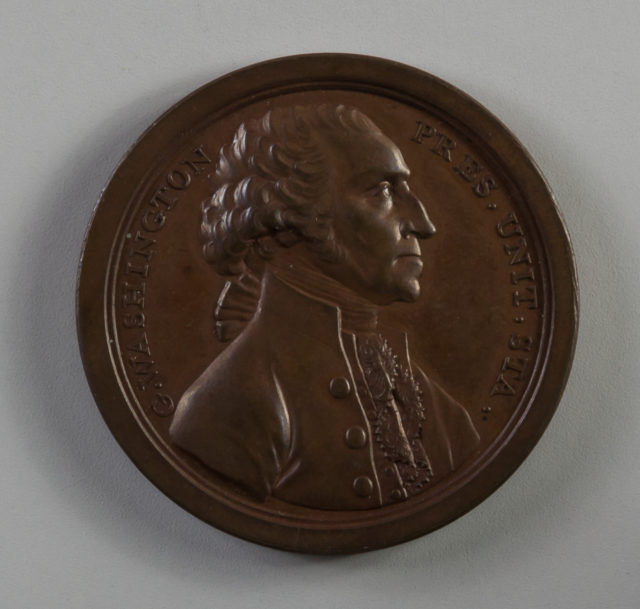 Medal Commemorating George Washington's Resignation of the Presidency