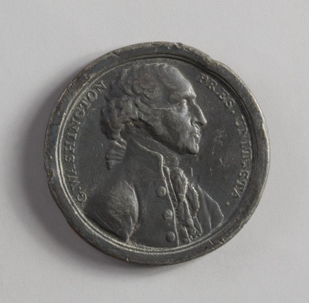 Medal Commemorating Washington's Resignation of the Presidency