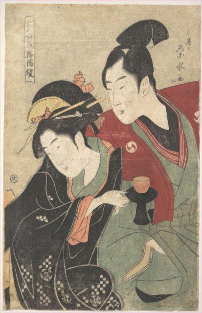 "Scene from the ""Chushingura"" Drama"