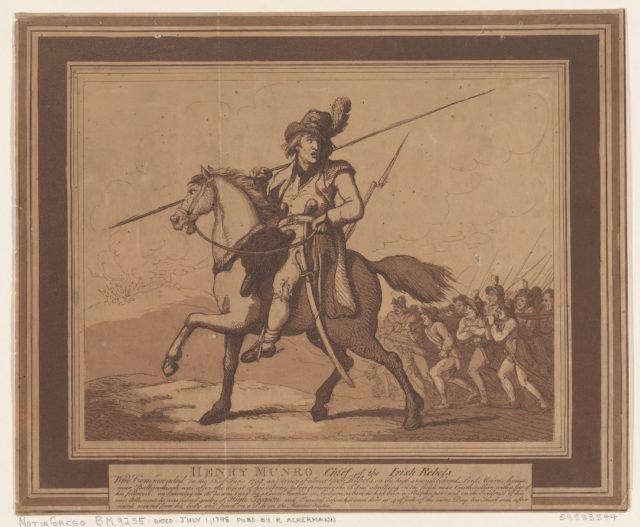 Henry Munro, Chief of the Irish Rebels