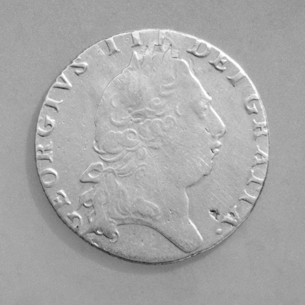 """Spade"" guinea, George III (1760–1820)"