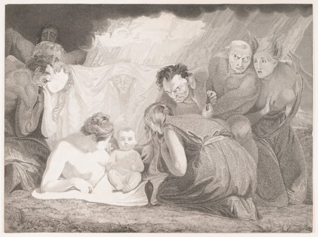 Infant Shakespeare Attended by Nature and the Passions