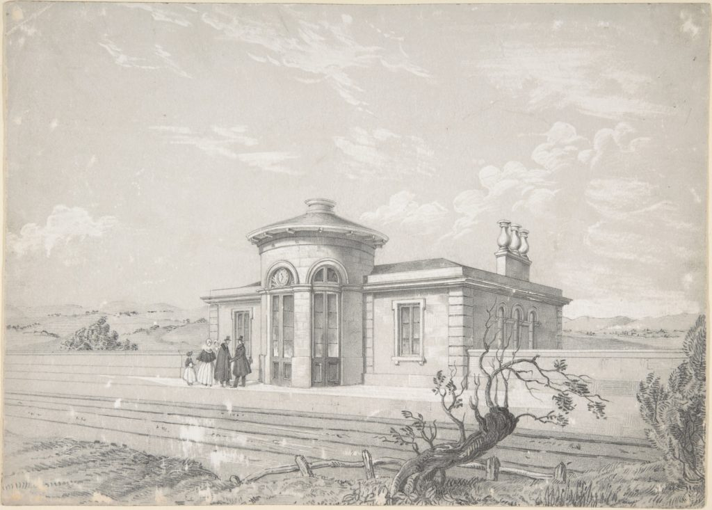Design for a Railroad Station