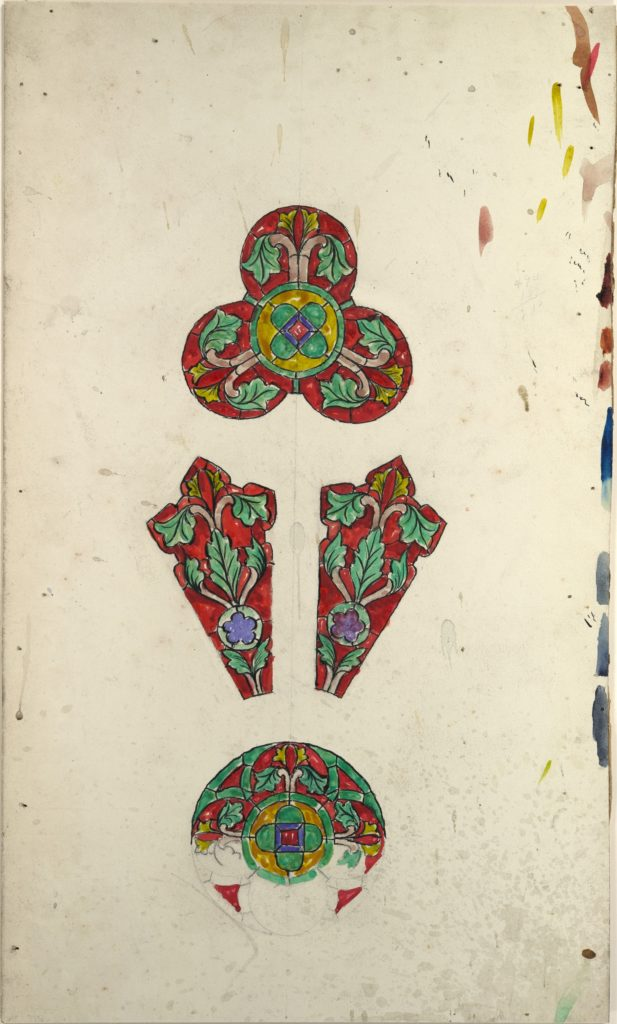 Design for a rose window