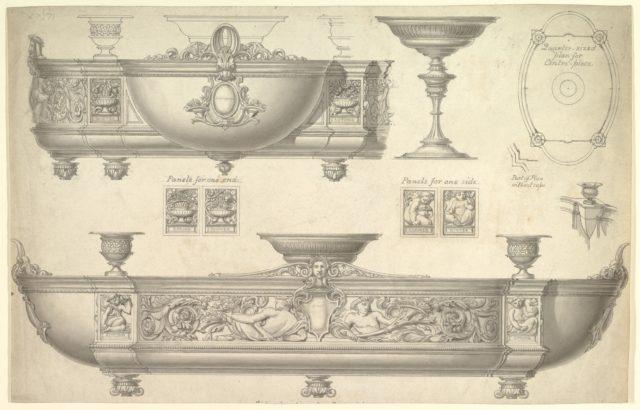 Design for a Silver Centerpiece