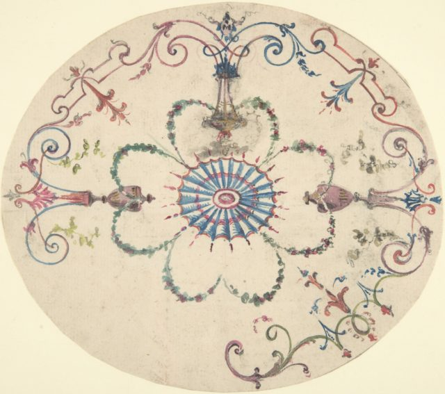 Design for an Oval Ceiling