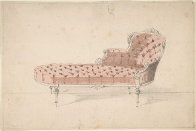 Design for Chaise Lounge