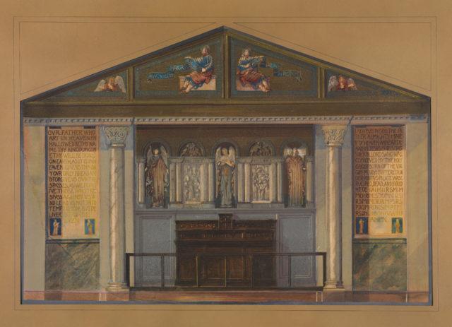 Design for church interior