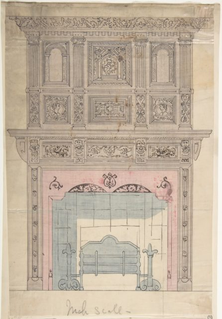 Design for Fireplace and Grate