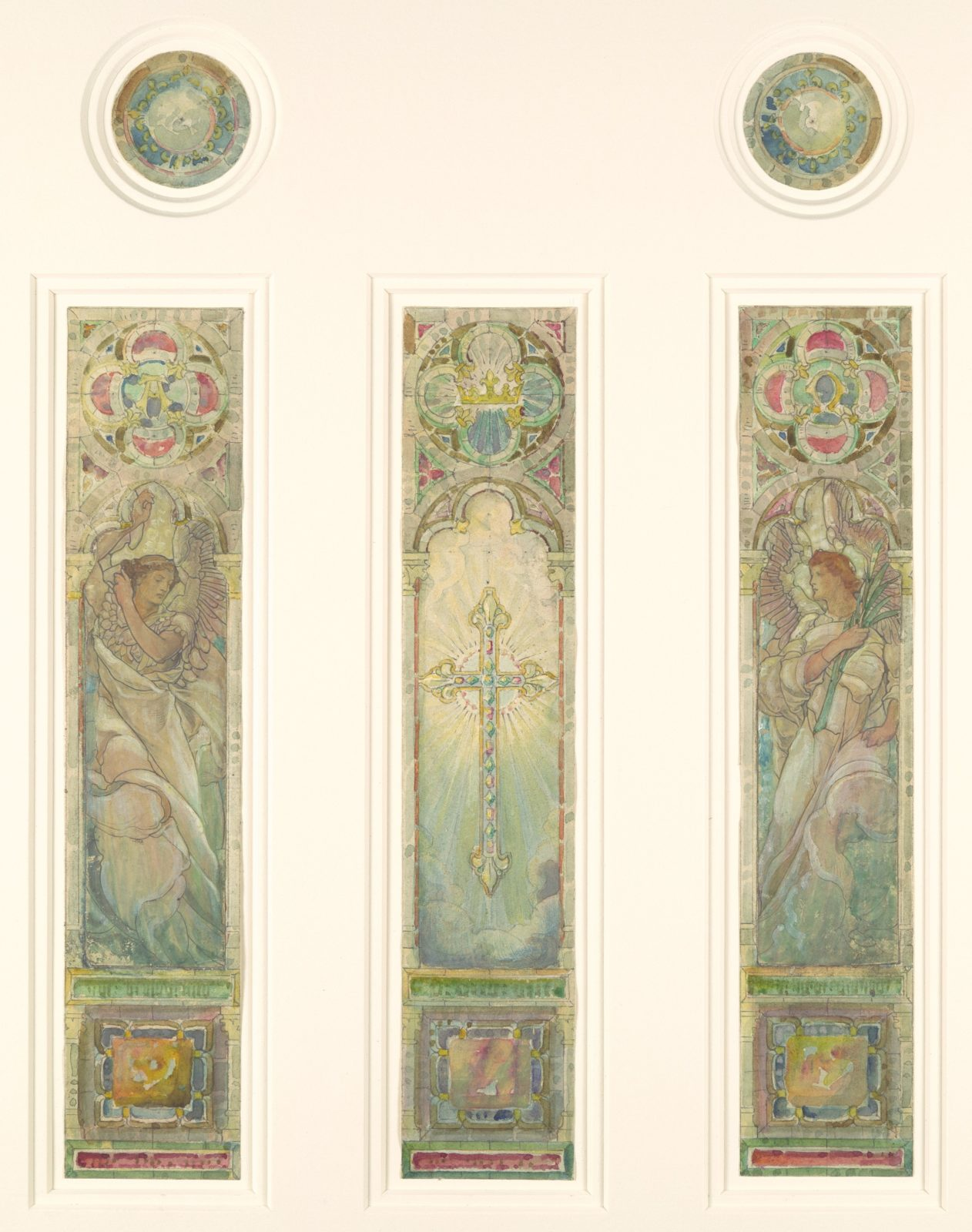 Design for triple light window
