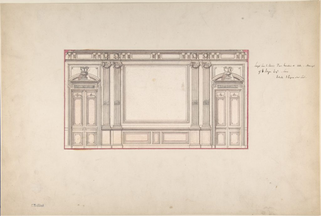 Design for Wall Panelling