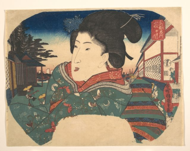 Famous Views of Edo: Kasumigaseki