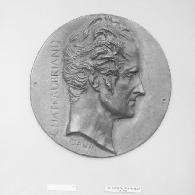 François René Auguste Vicomte de Chateaubriand (1768–1848), French statesman and man-of-letters