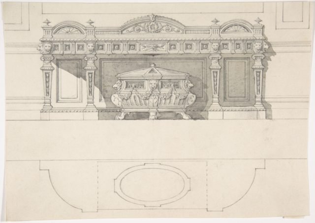 Free Standing Tomb and Canopy