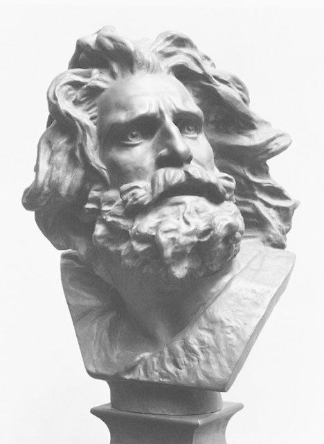 Head of the Old Warrior (Tête du Guerrier)