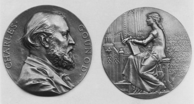 In Honor of Charles Gounod, the Composer