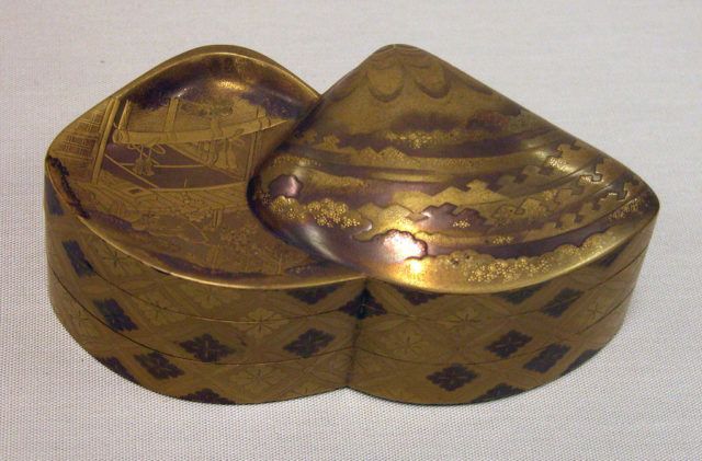 Incense Box in Two Compartments