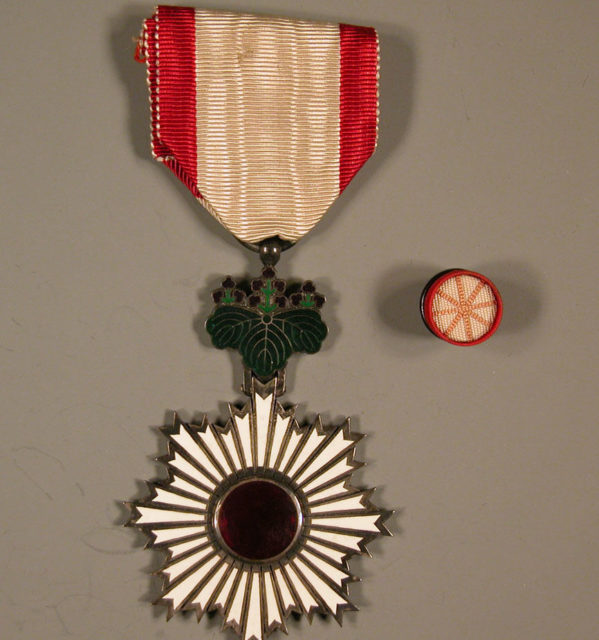 Insignia and Button