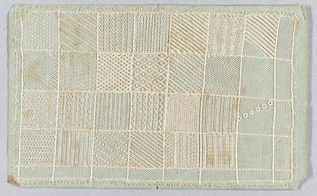 Lace sampler