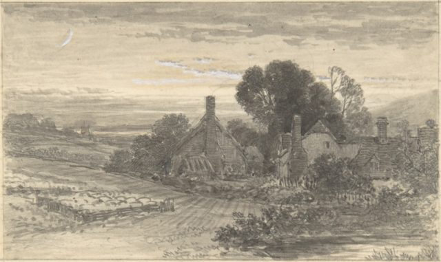 Landscape with Cottages and a Sheepcot