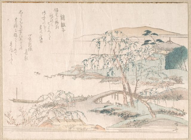 Landscape with Willow Trees