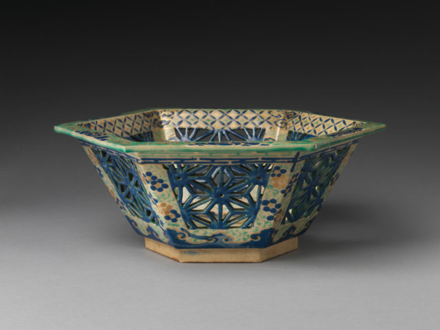 Large reticulated bowl