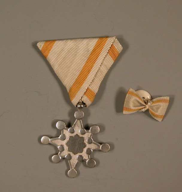 Medal and Button