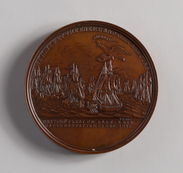 Medal of the Naval Battle of Lake Erie, 1813