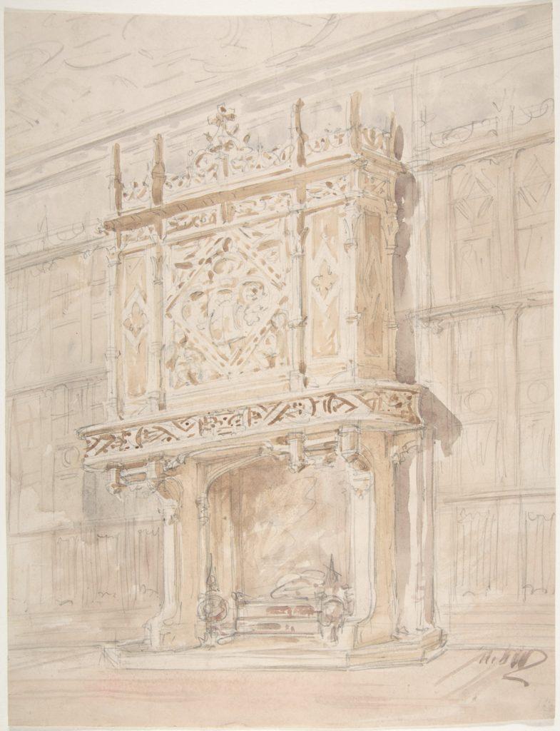 Medieval or Tudor Chimneypiece Design