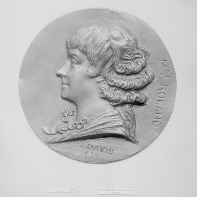 Mme. Roland (Manon Jeanne Philipon) (1754–1793), French literary woman and politician