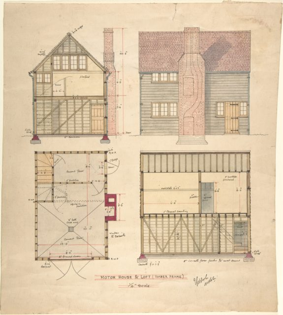 Motor House and Loft (Timber frame)