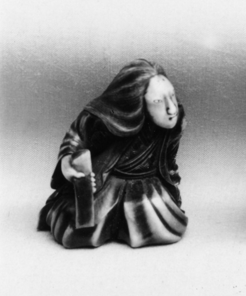 Netsuke of a Woman