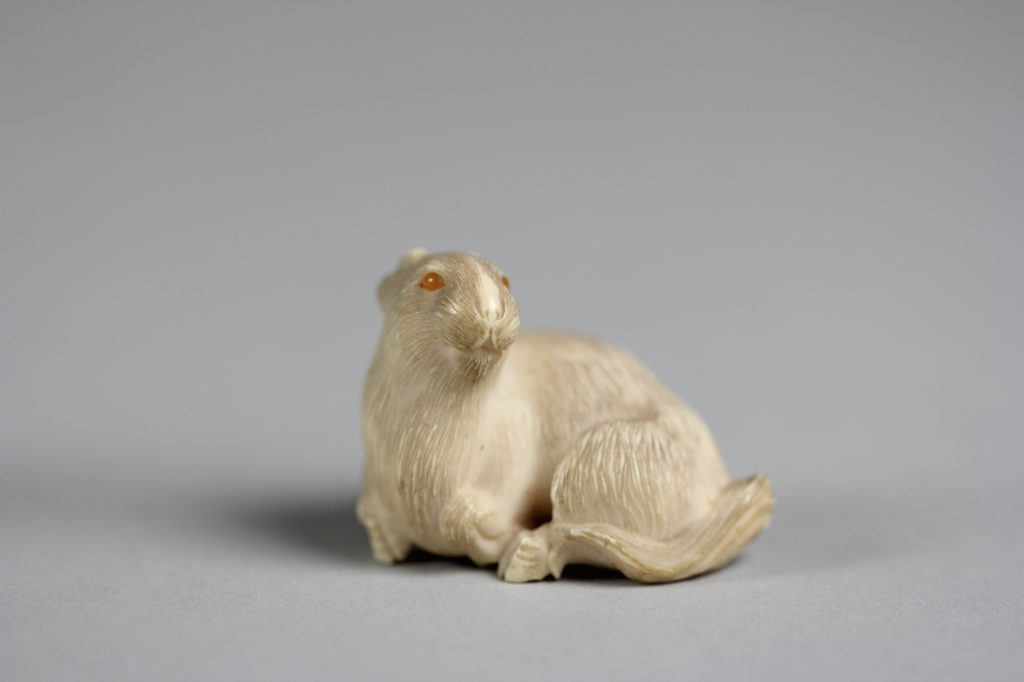 Netsuke of Goat
