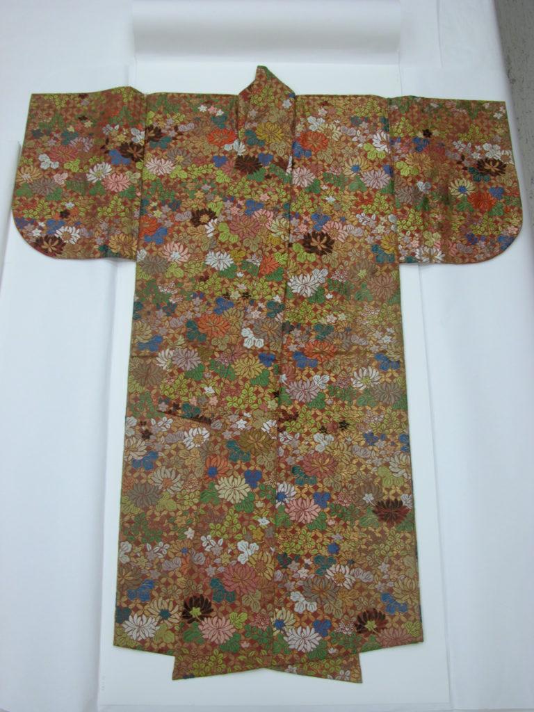 Noh Robe (Karaori) with Autumn Flowers and Grasses
