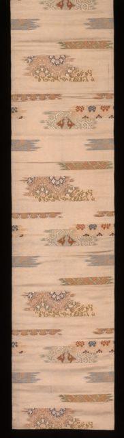 Obi with Textile Fragments