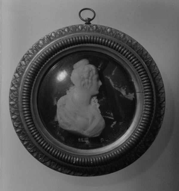 Portrait of a lady, possibly Mrs. Timothy Shelley, Mother of Percy Byron Shelley