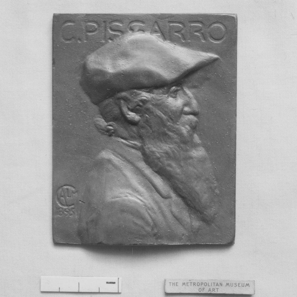 Portrait of Camille Pissarro (1830–1903), French Impressionist painter