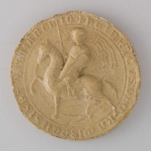 Reproduction of the Seal of Heinrich der Erlauchte von Meissen, 1222 (Thüringen, 1247)