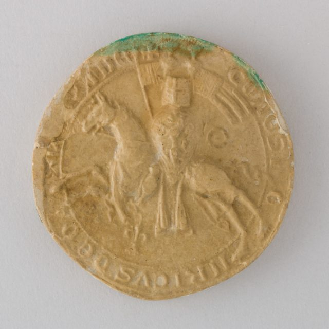 Reproduction of the Seal of Heinrich Graf von Orlamünde, 1327