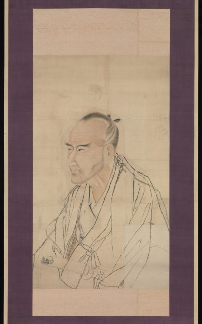 Sketch for the Portrait of Tachihara Suiken