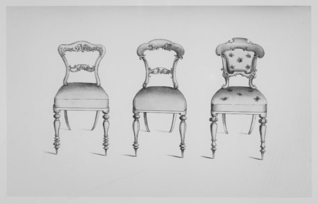 Specimens of Furniture in the Elizabethan & Louis Quatorze Styles. Adapted for Modern Imitation