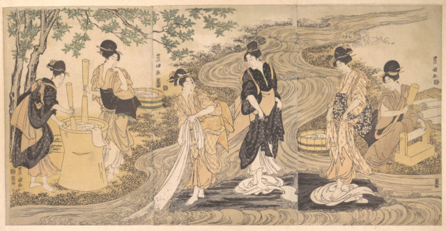 Tetsukuri no Tamagawa on the Musashino Plain