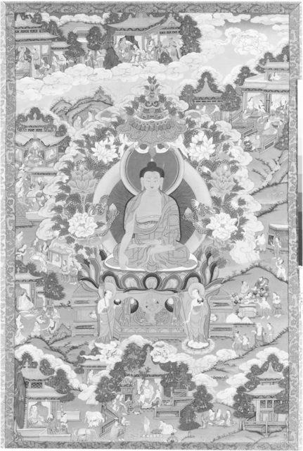 Thanka with Buddha