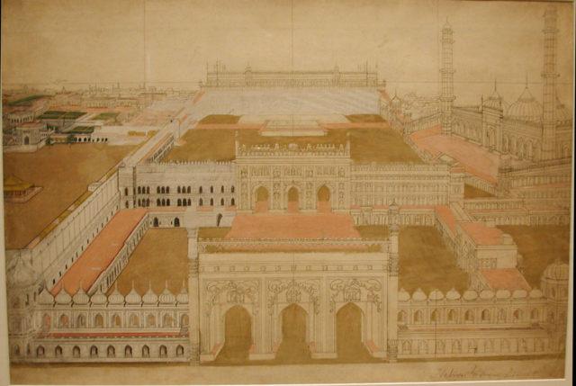 The Bara Imambara Complex at Lucknow