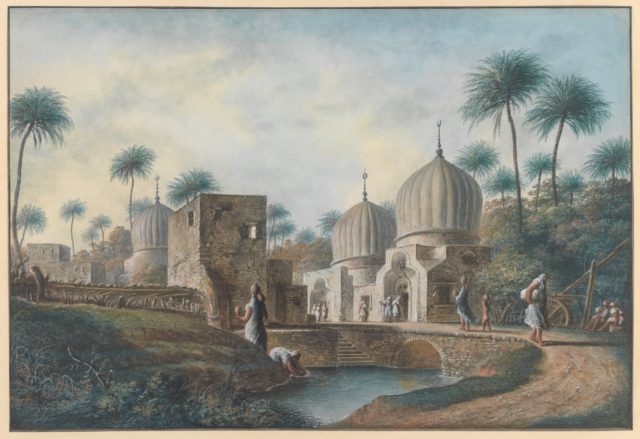 Tombs of Great Arab Saints to be seen in the Neighborhood of Rosetta, Egypt